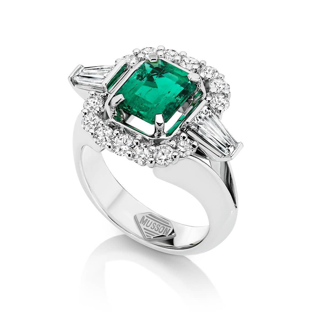 Juliette Ring, Emerald