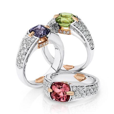 Viva Ring, Pink Tourmaline