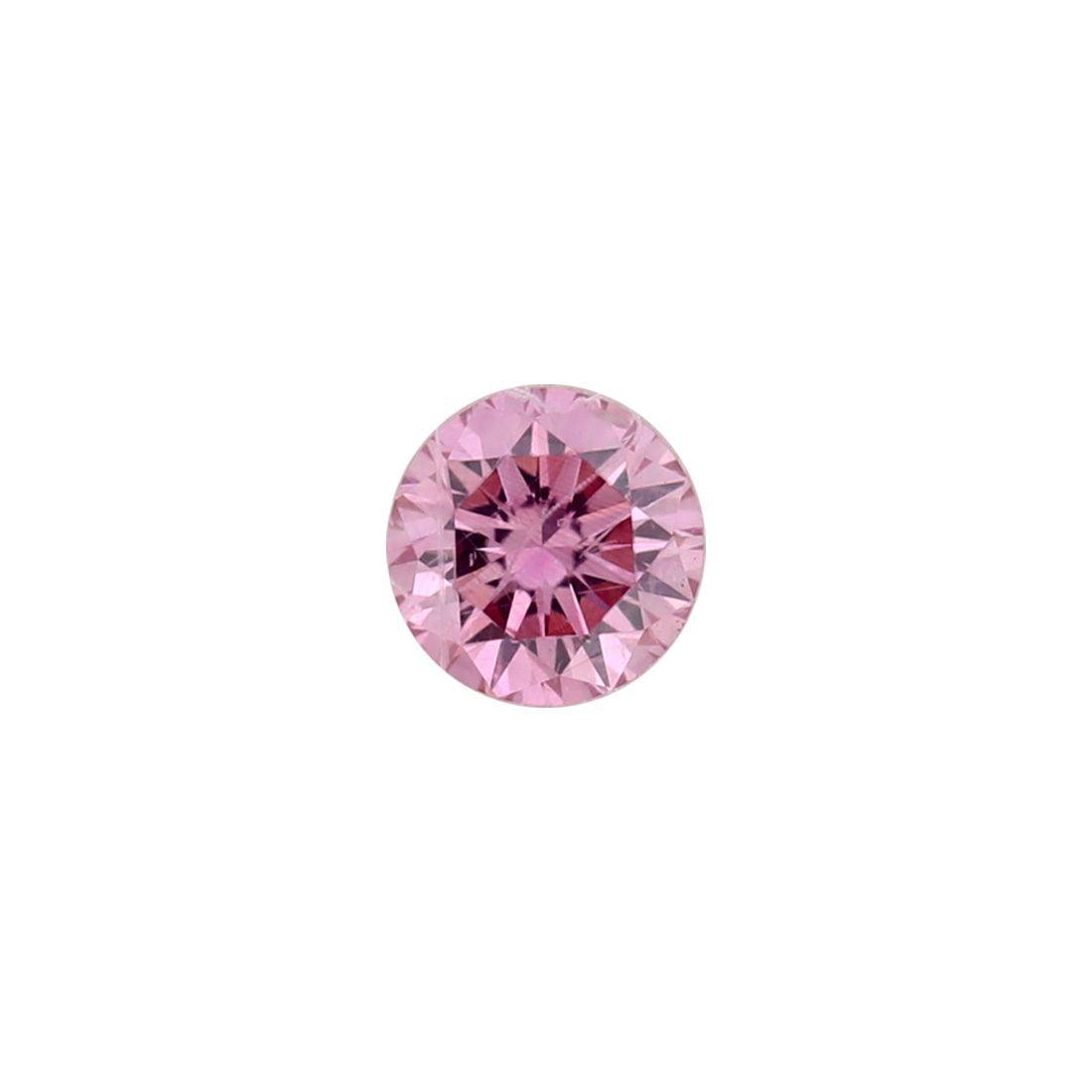 0.11ct Natural Fancy Intense Purplish Pink, 4PP Argyle Diamond
