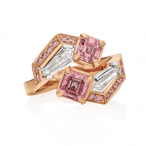 Allegra Argyle Pink Diamond Ring