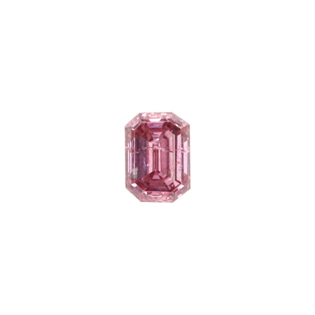 0.07ct Natural Fancy Intense Purplish Pink, 4PP Argyle Diamond