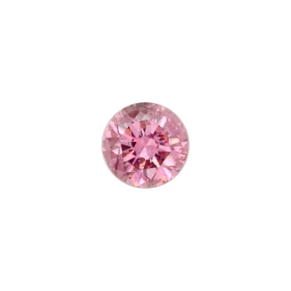 0.07ct Natural Fancy Deep Pink, 3P Argyle Diamond