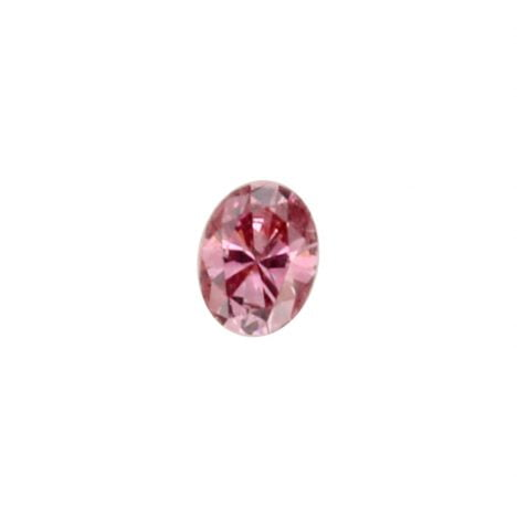 0.04ct Natural Fancy Vivid Purplish Pink, 3PP Argyle Diamond