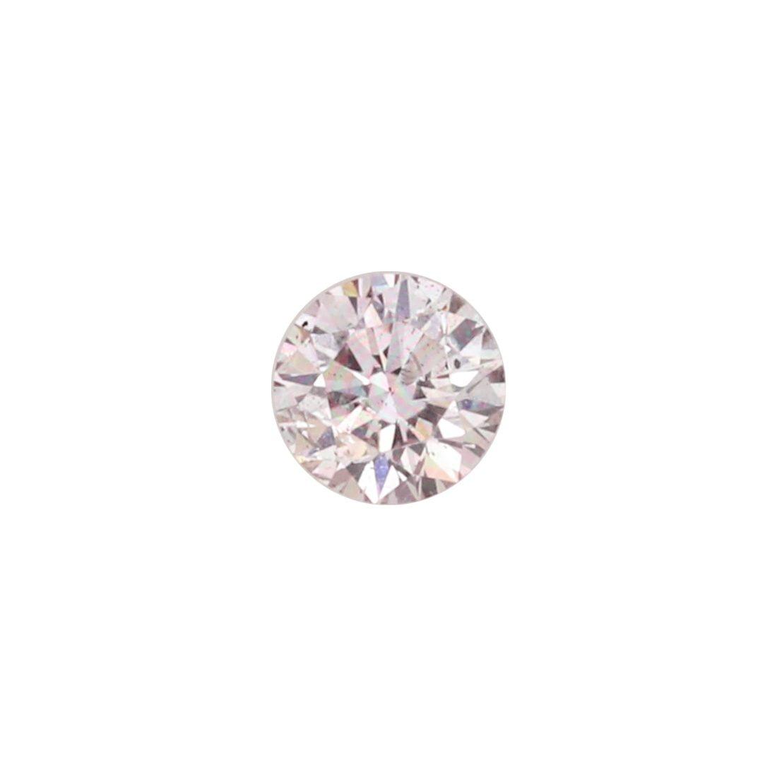 0.19ct Natural Fancy Light Pink, 8P, SI2, Argyle Pink Diamond
