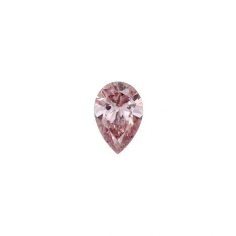 0.07ct Natural Fancy Purplish Pink, 7PP Argyle Diamond