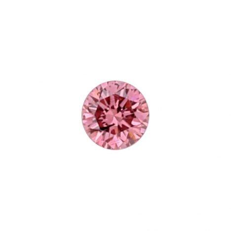 0.04ct Natural Fancy Vivid Purplish Pink, 2PP Argyle Diamond
