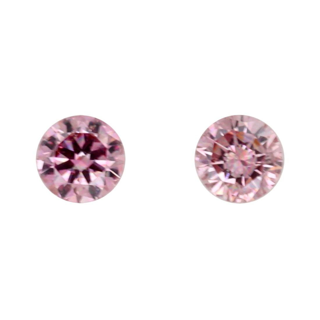 2=0.18ct Natural Fancy Intense Purplish Pink, 4PP Argyle Diamond