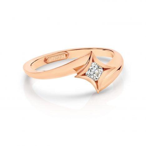 Rose Gold Nova Ring