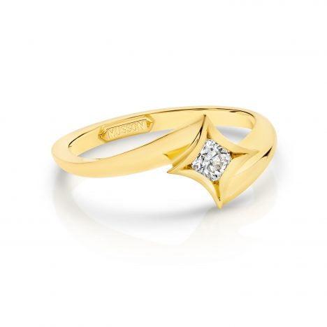 Yellow Gold Nova Ring