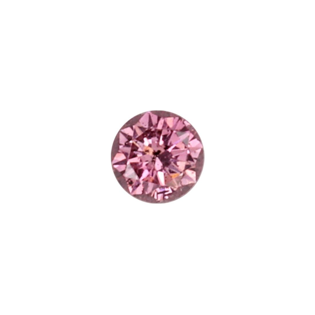 0.06ct Natural Fancy Deep Purplish Pink, 3PP Argyle Diamond
