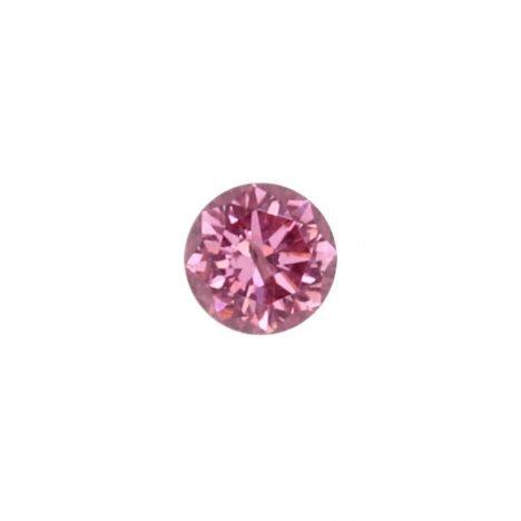 0.08ct Natural Fancy Intense Purplish Pink, 4PP Argyle Diamond
