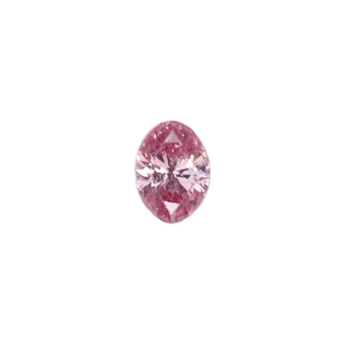 0.07ct Natural Fancy Intense Purplish Pink, 4PP, SI1, Argyle Pink Diamond