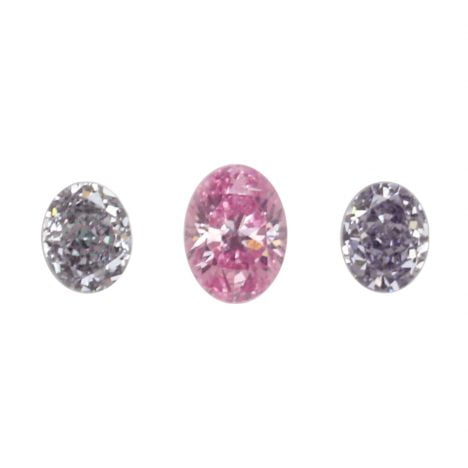 3=0.34ct Natural Fancy Intense Purplish Pink/Grey Blue, 5PP/BL2-3 Argyle Diamond