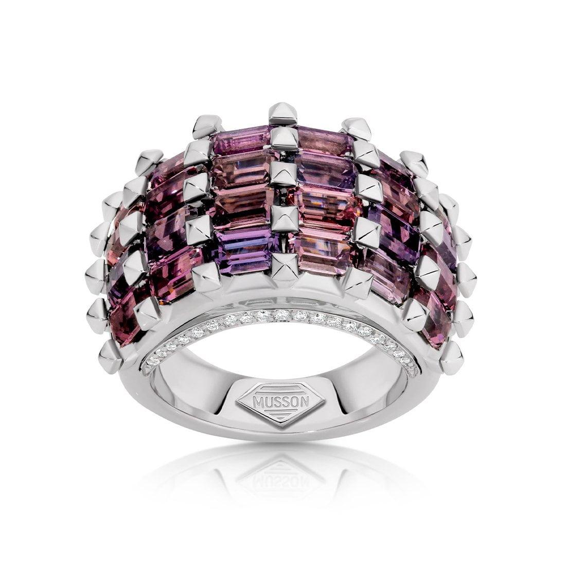 Aella Purple Spinel Ring