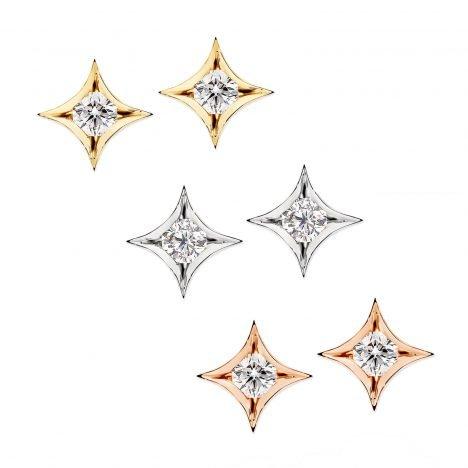 Nova Diamond Stud Earrings
