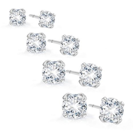 Signature Diamond Studs