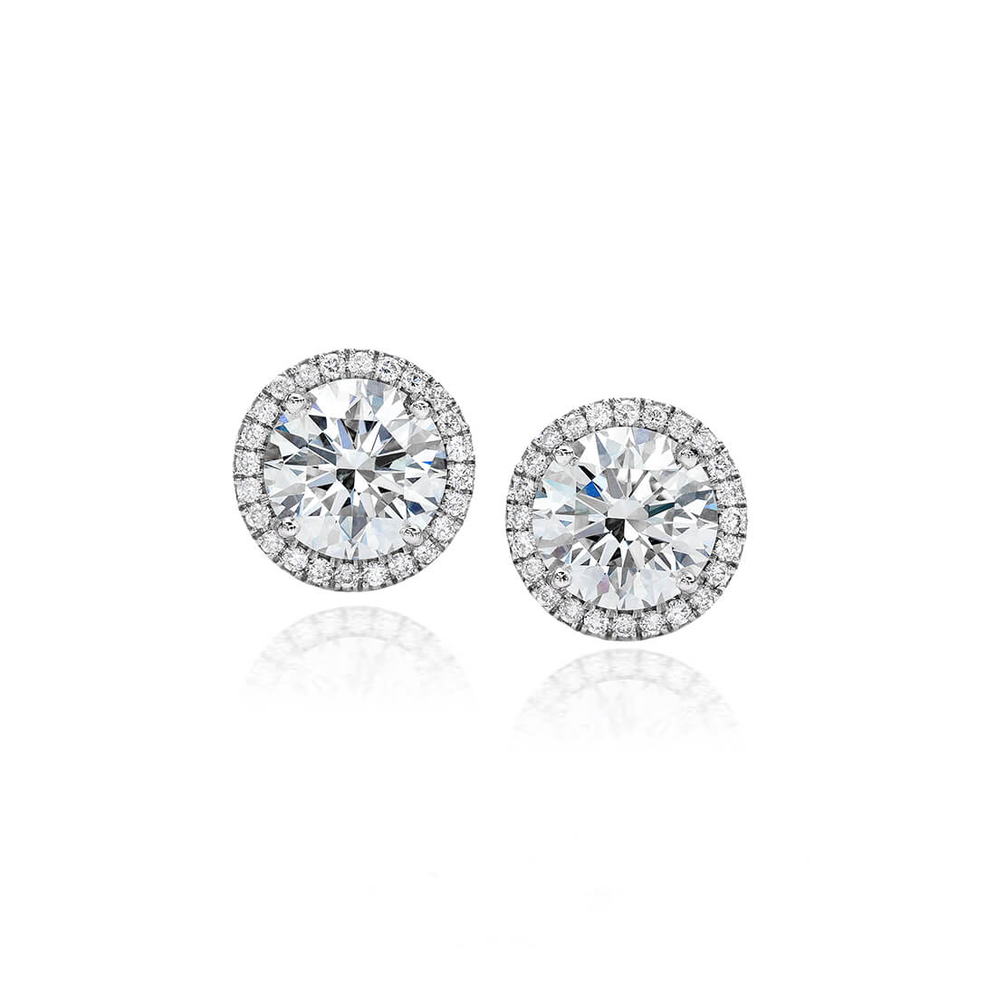 Centre of My Universe Forevermark Studs