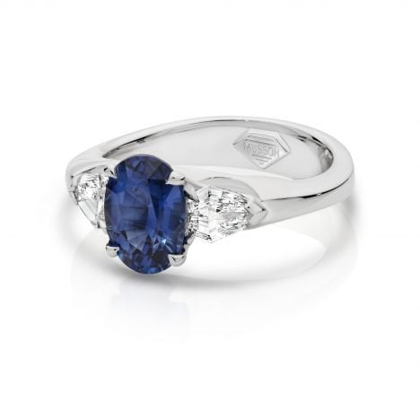 Envy Sapphire and Diamond Ring