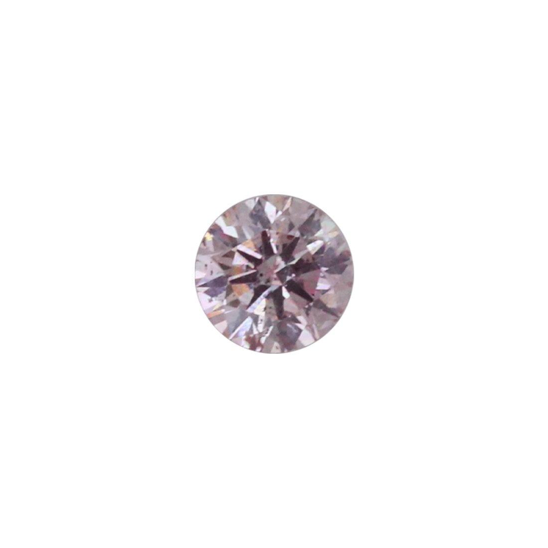 0.08ct Natural Fancy Pink, 7P Argyle Diamond