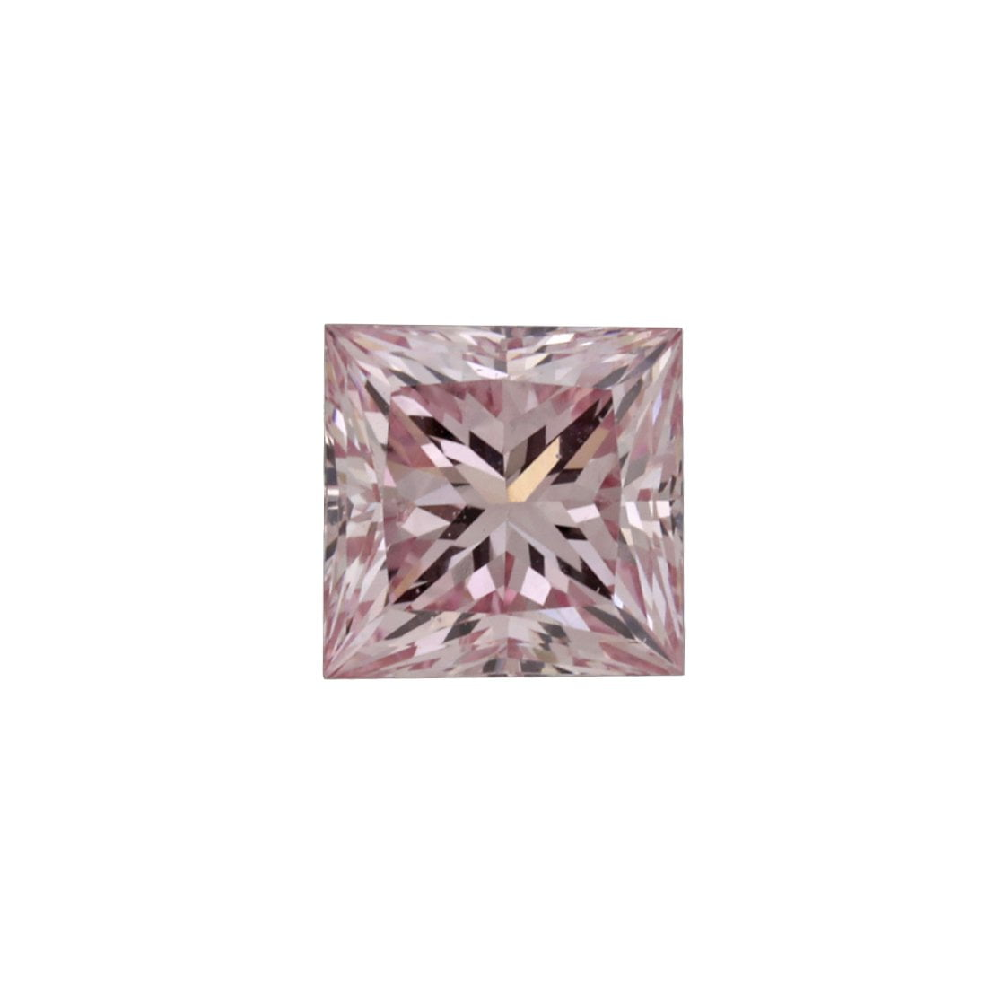 0.73ct Natural Fancy Intense Pink , 6P Argyle Diamond
