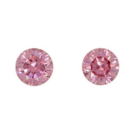 2=0.24ct Natural Fancy Intense Pink, 4PP Argyle Diamond