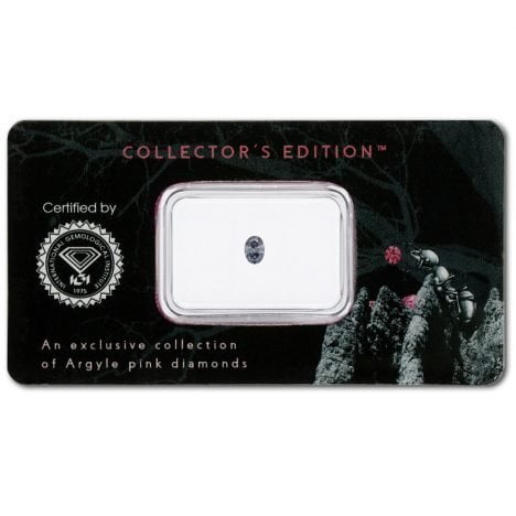 0.09ct Fancy Bluish Grey, BL2, SI1, Argyle Pink Diamond