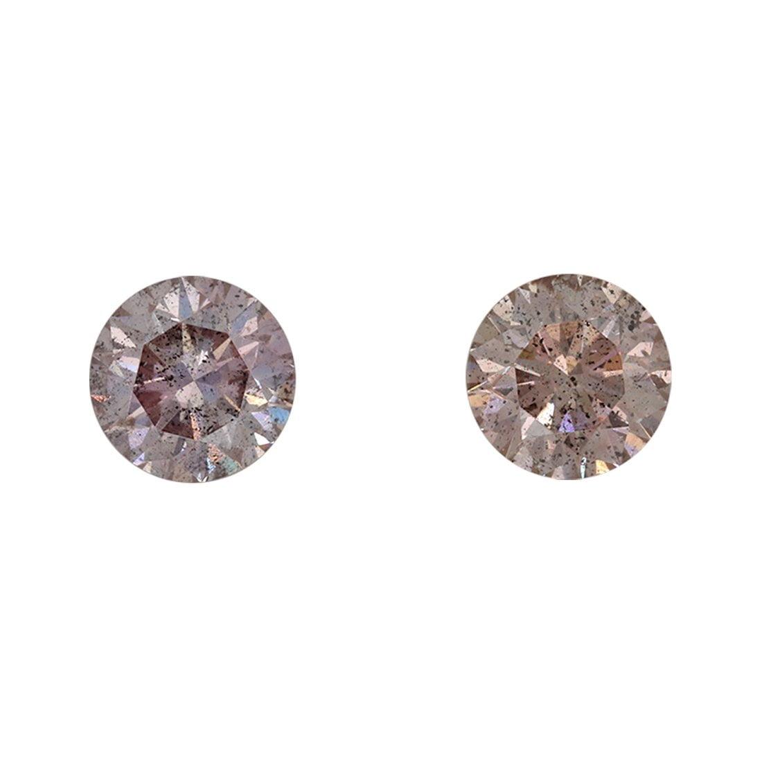2=2.07ct Natural Fancy Purplish Pink - Fancy Pink, 8P Argyle Diamond