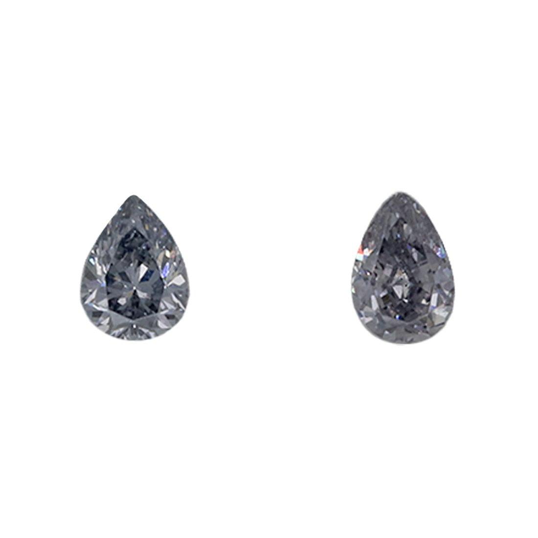 2=0.16ct Natural Fancy Light Bluish Grey, BL1, VS2, Argyle Pink Diamond