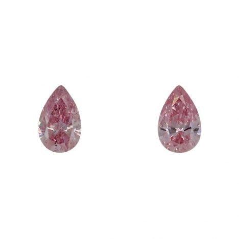 2=0.17ct Natural Fancy Intense Pink, 6PP Argyle Diamond