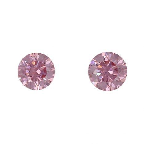 2=0.08ct Natural Fancy Intense Purplish Pink, 4PP, VS2, Argyle Pink Diamond