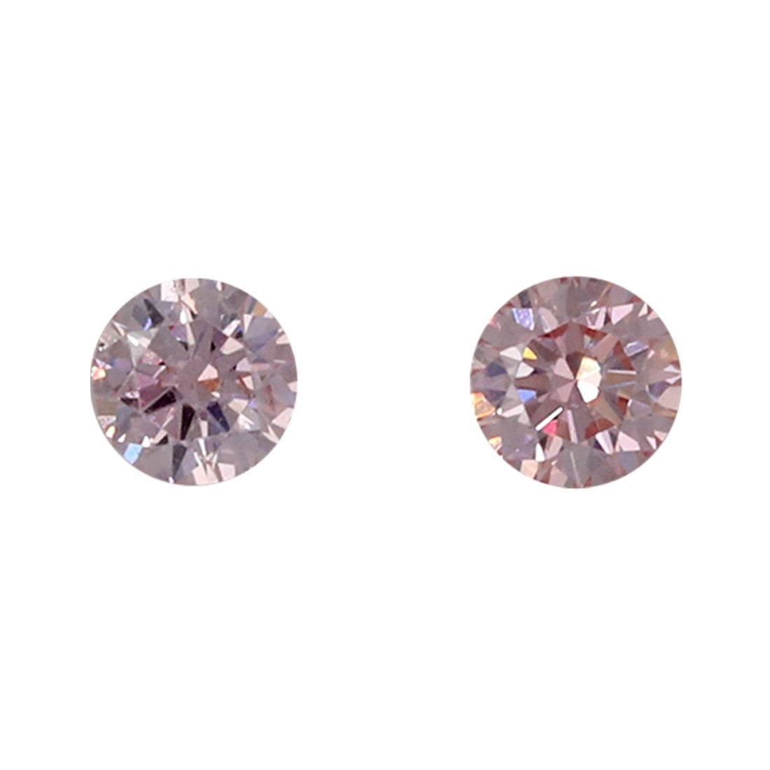 2=0.09ct Natural Fancy Pink, 6P Argyle Diamond