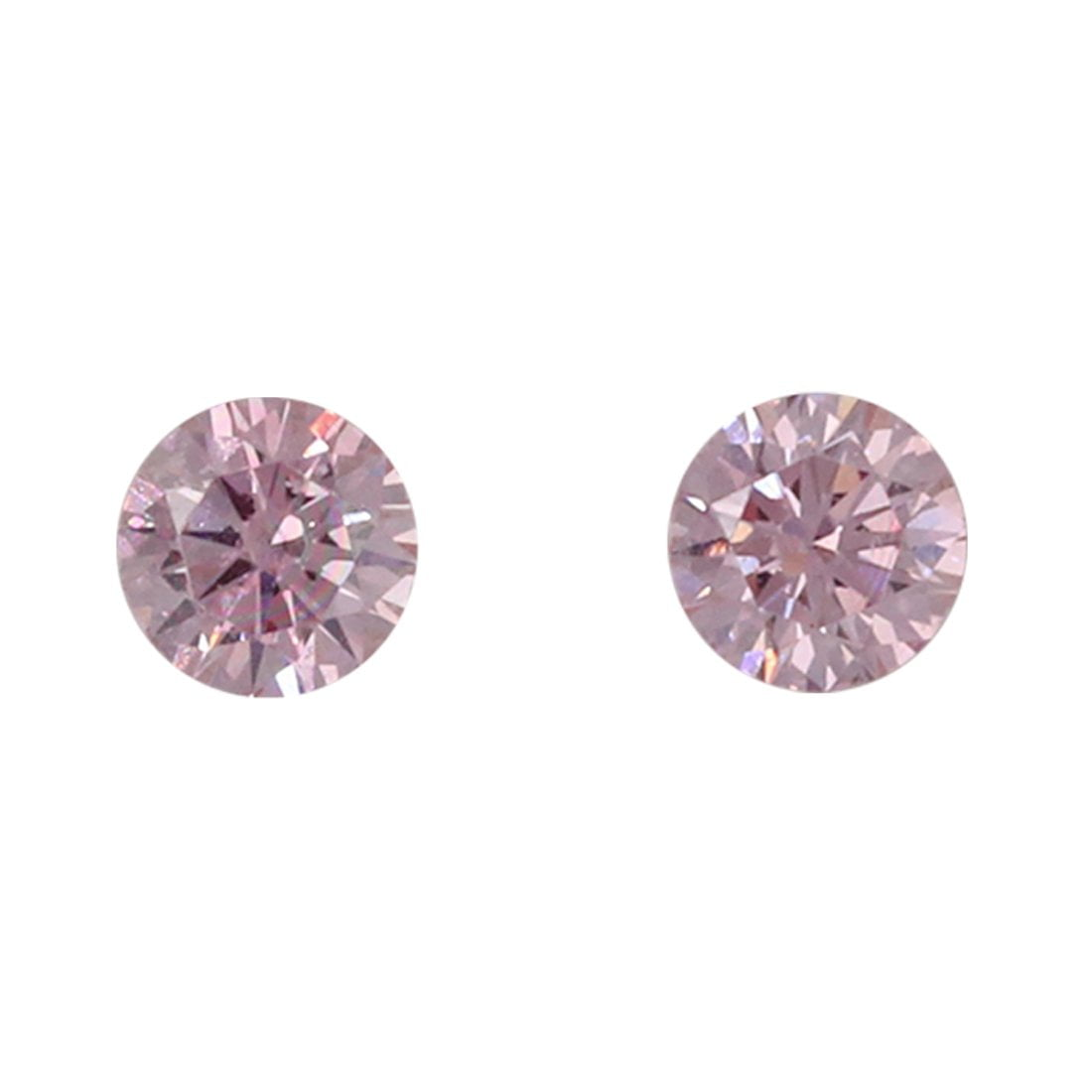 2=0.10ct Natural Fancy Intense Pink, 5P Argyle Diamond