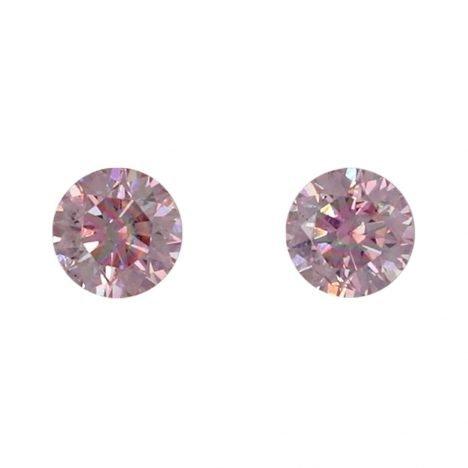 2=0.12ct Natural Fancy Intense Pink, 5P Argyle Diamond