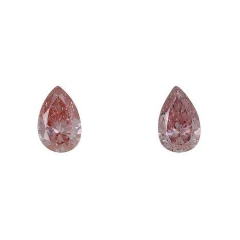 2=0.15ct Natural Fancy Intense Pink, 5P Argyle Diamond
