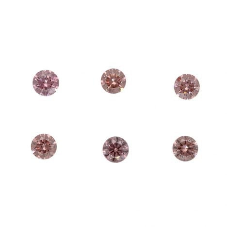 6=0.26ct Natural Fancy Intense Pink, 6P Argyle Diamond