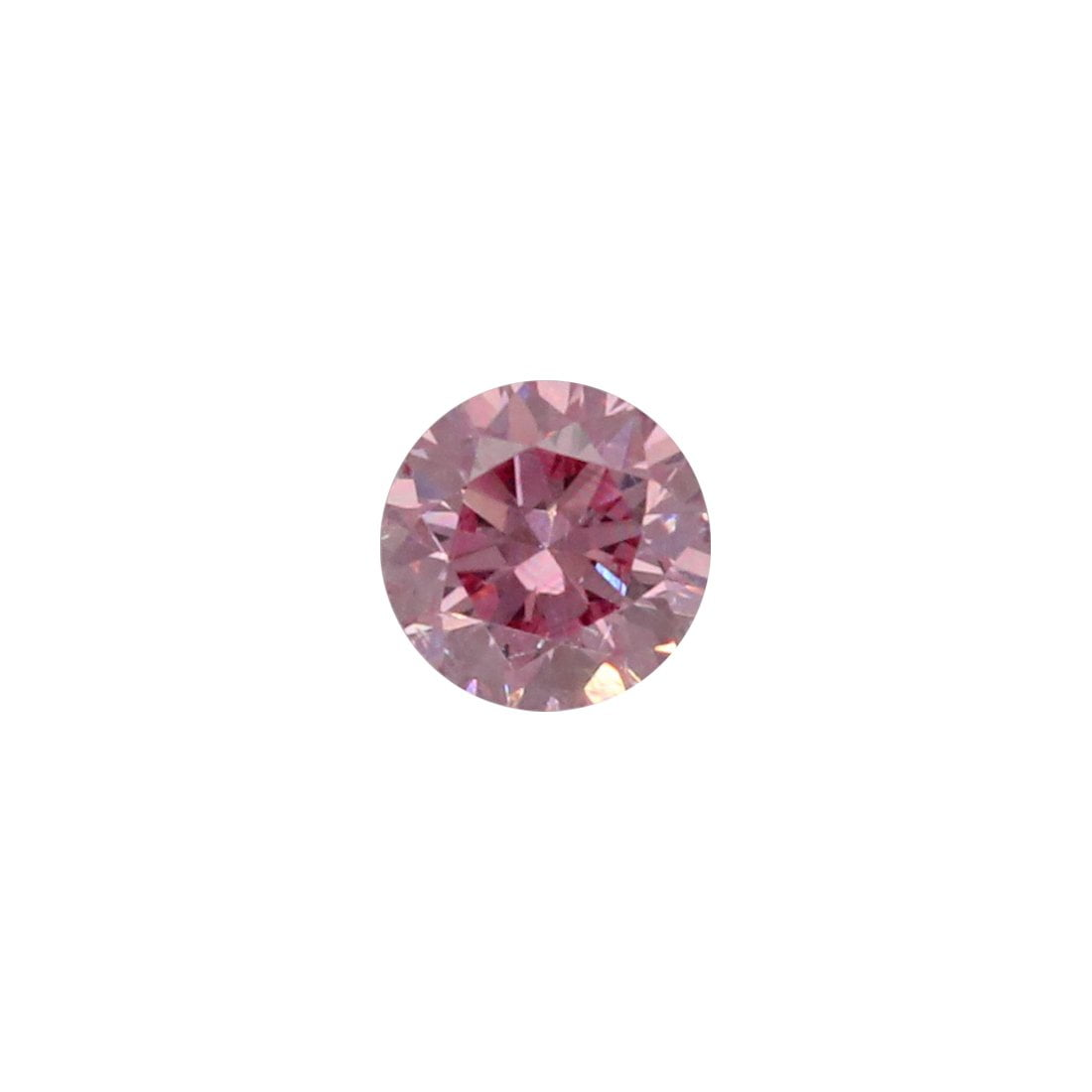 0.08ct Natural Fancy Intense Purplish Pink, 5PP Argyle Diamond