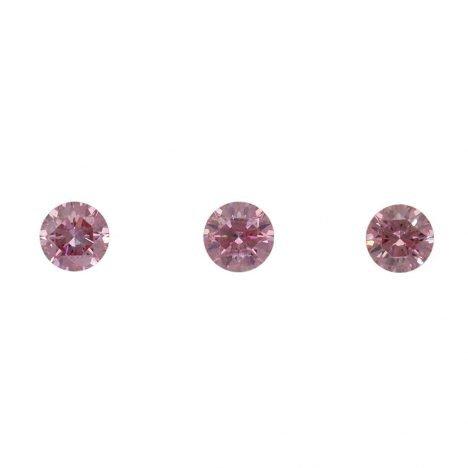 3=0.16ct Natural Fancy Intense Pink/Purplish Pink, 4PP Argyle Diamond