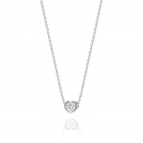 Amore DeBeers Forevermark Diamond Heart Pendant