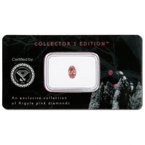 0.62ct Natural Fancy Intense Pink, 5P, I1, Argyle Pink Diamond