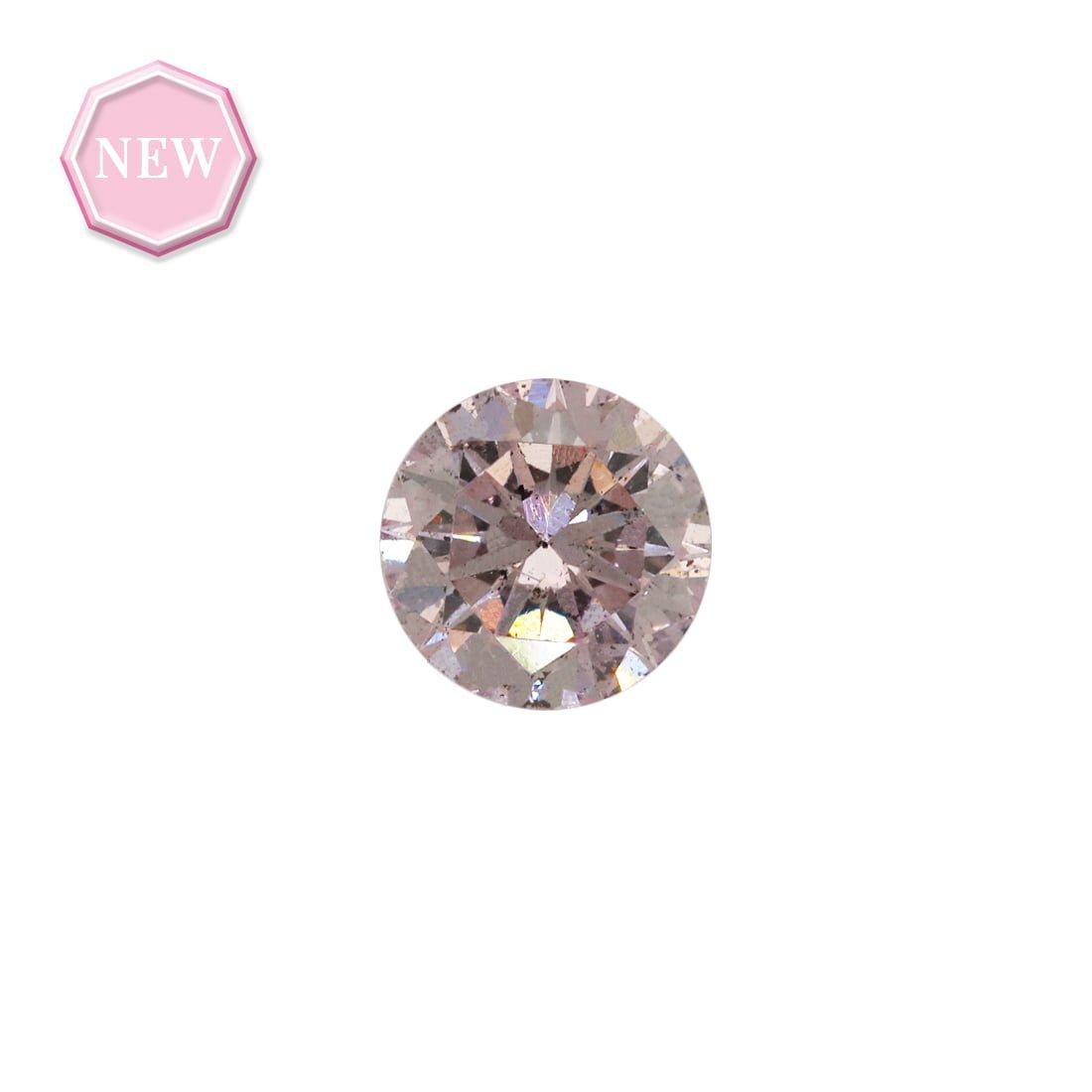 0.34ct Natural Fancy Pink I1, 8P Argyle Diamond