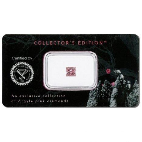 0.49ct Natural Fancy Intense Pink SI2, 6P Argyle Diamond