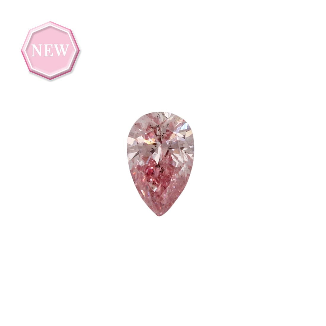 0.11ct Natural Fancy Intense Pink SI2, 5P Argyle Diamond