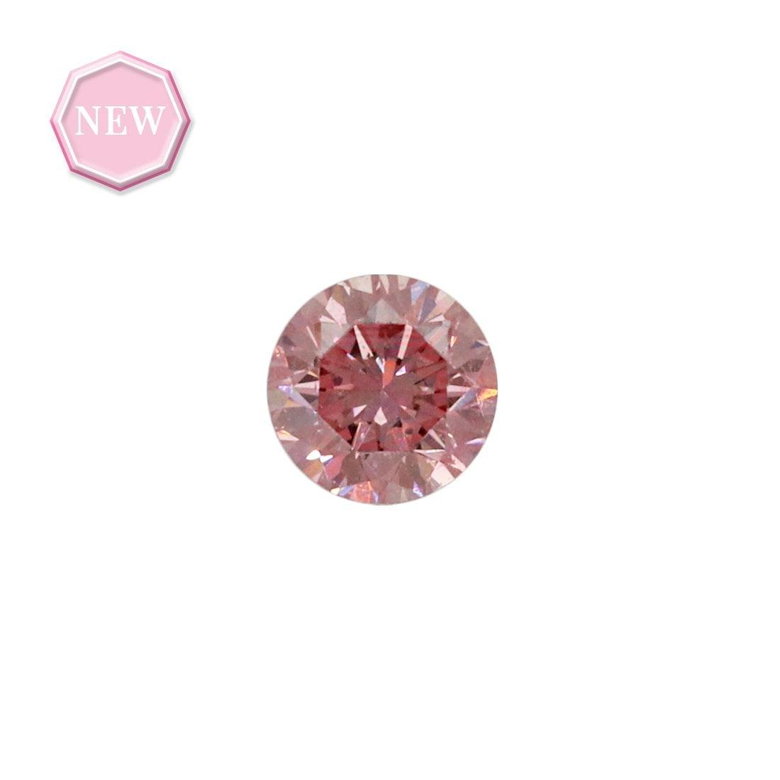 0.08ct Natural Fancy Intense Pink SI1, 4P Argyle Diamond