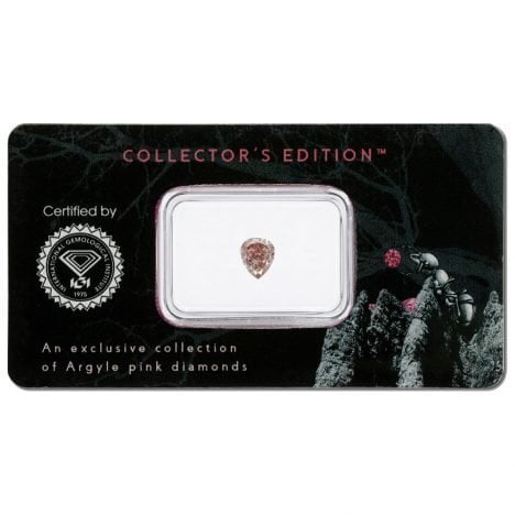 0.21ct Natural Fancy Pink SI2, 6PR Argyle Diamond