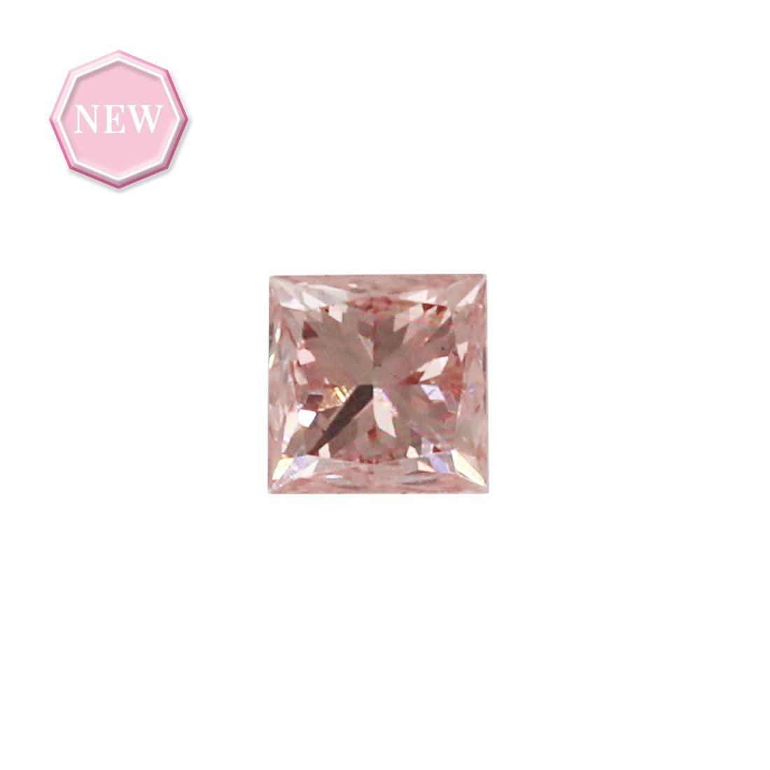 0.07ct Natural Fancy Intense Pink SI2, 5PR Argyle Diamond