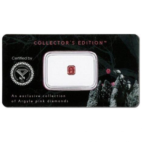 0.22ct Natural Fancy Deep Pink I1, 1PR Argyle Diamond