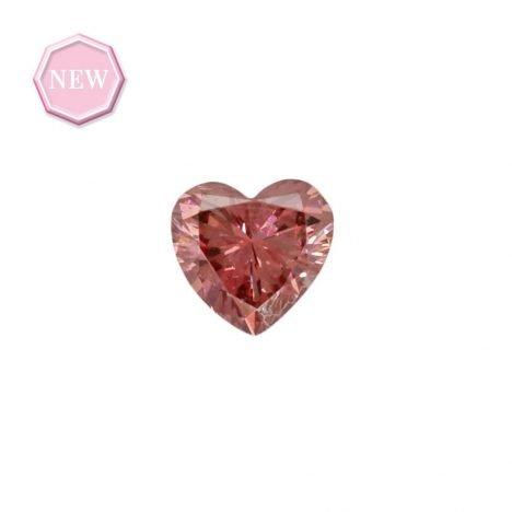 0.08ct Natural Fancy Deep Pink SI1, 2PR Argyle Diamond