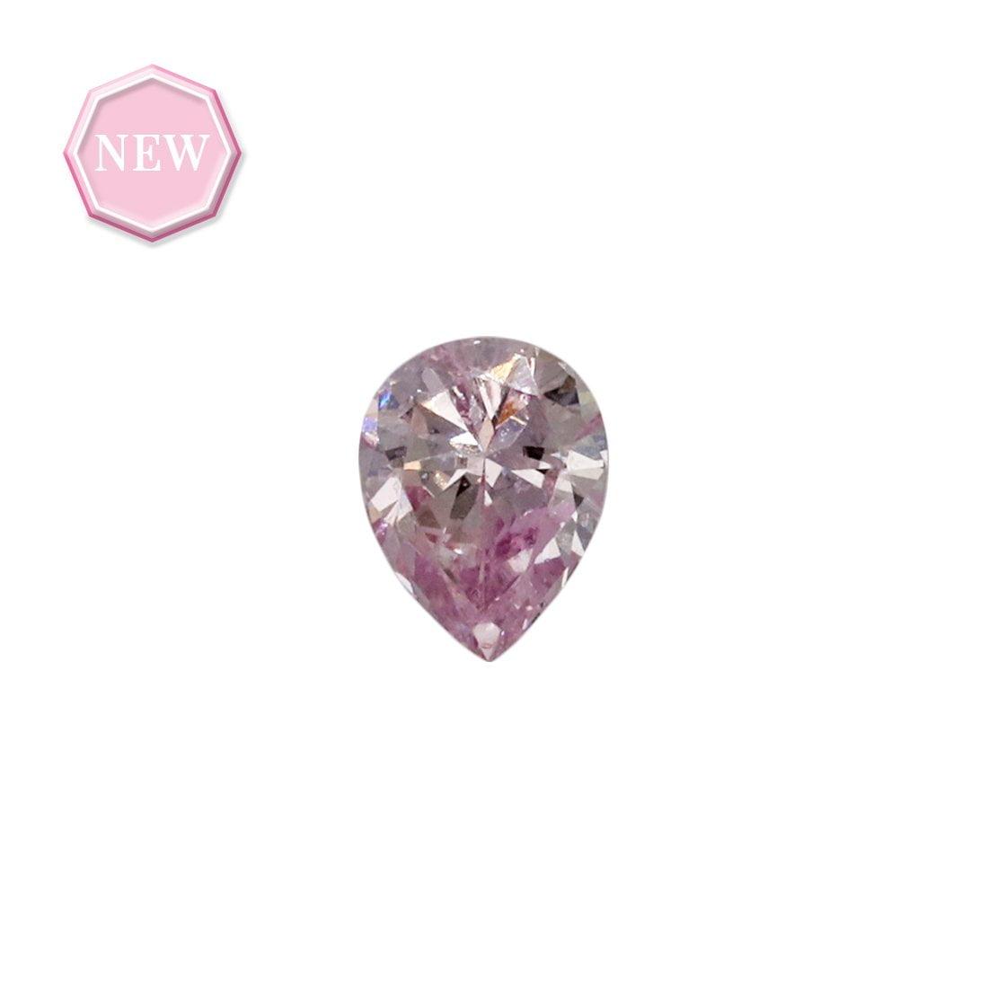 0.10ct Natural Fancy Purplish Pink SI2, 7PP Argyle Diamond