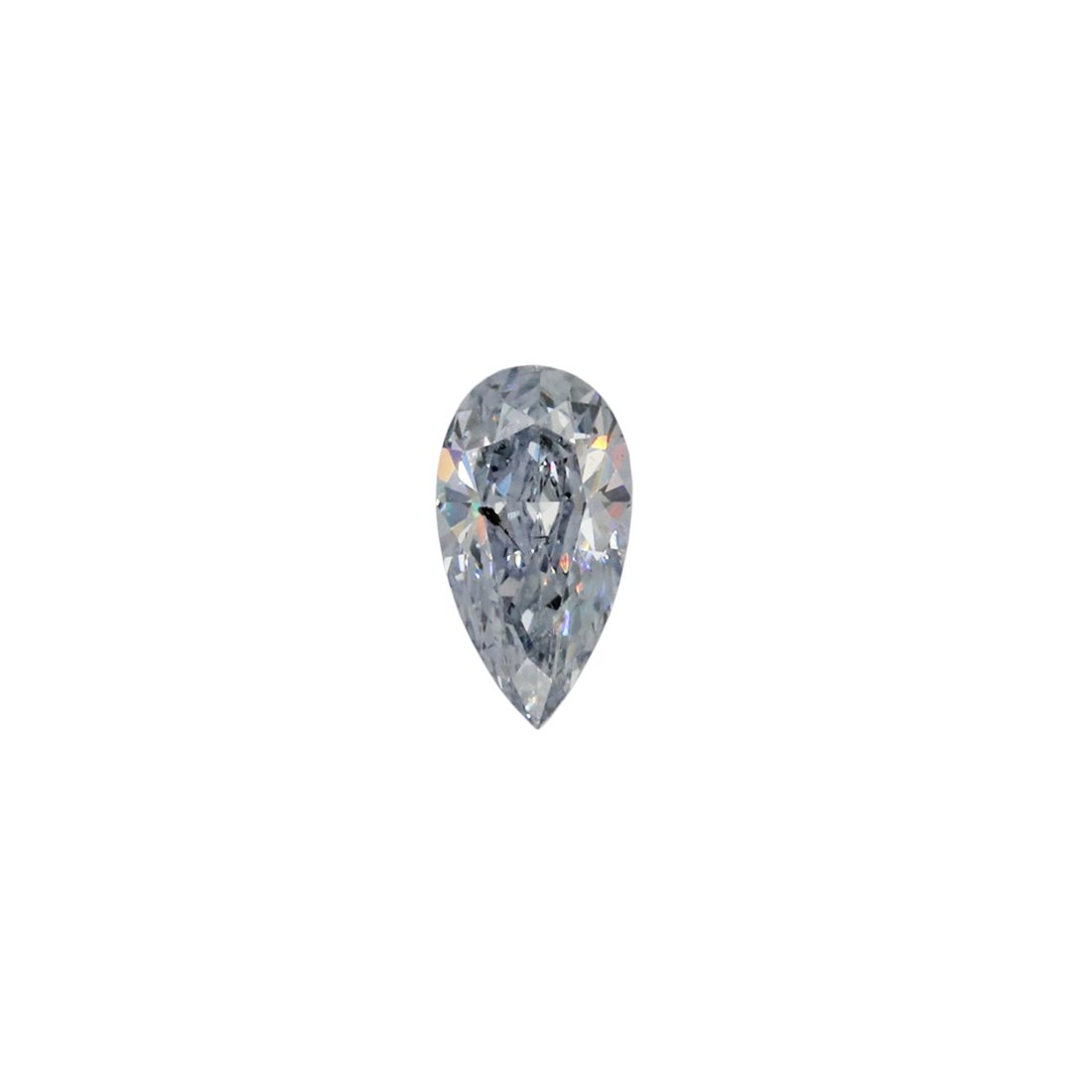 0.11ct Natural Fancy Bluish Grey, BL1, SI2, Argyle Pink Diamond