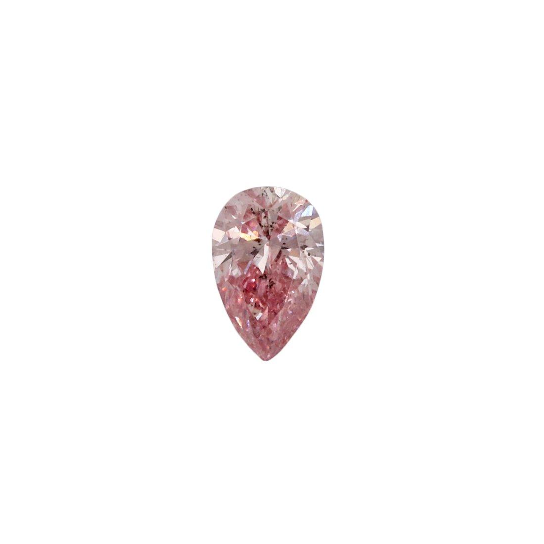 0.11ct Natural Fancy Intense Pink, 5P, SI2, Argyle Pink Diamond